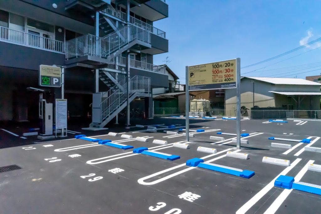 メディパーク高知駅の駐車場